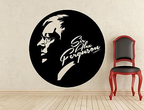 Sir Alex Ferguson Manchester United Wall Sticker