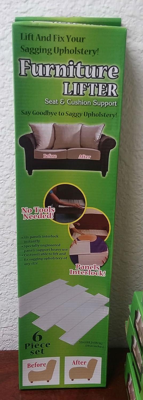 Furniture Lifter Seat Cushion Support Interlocking Panels Fix ...