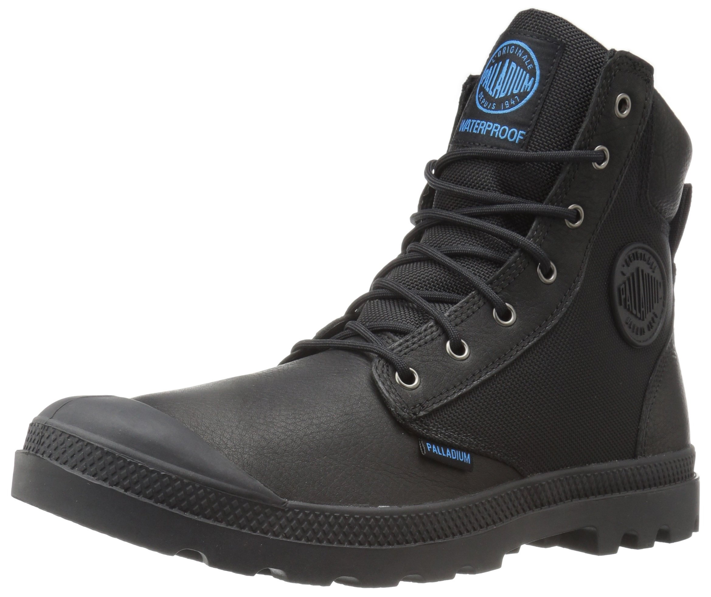 Palladium Men's Pampa Sport Cuff Wpn Rain Boot, Black, 11 M US by Palladium