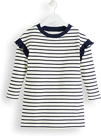 RED WAGON Robe Manches Longues Ray/ée Fille Marque