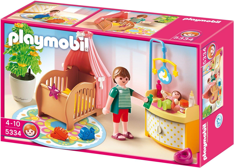 Playmobil 5334 - Zauberhaftes Babyzimmer: Amazon.de: Spielzeug