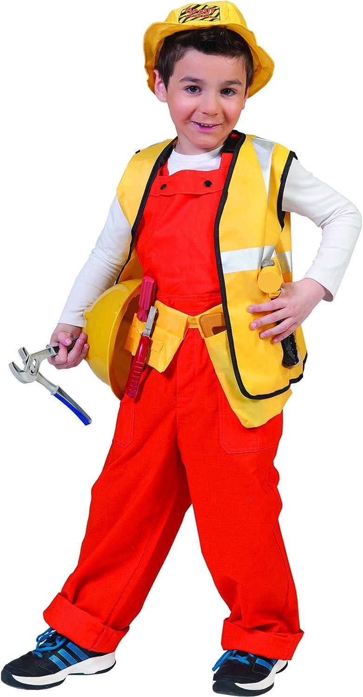 Disfraz albañil niño - De 6 a 8 años: Amazon.es: Juguetes y juegos