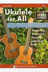 KG1S - Ukulele for All - Student Edition Sheet music