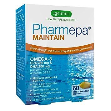 Pharmepa MAINTAIN - Omega-3 EPA y DHA aceite de pescado salvaje ...