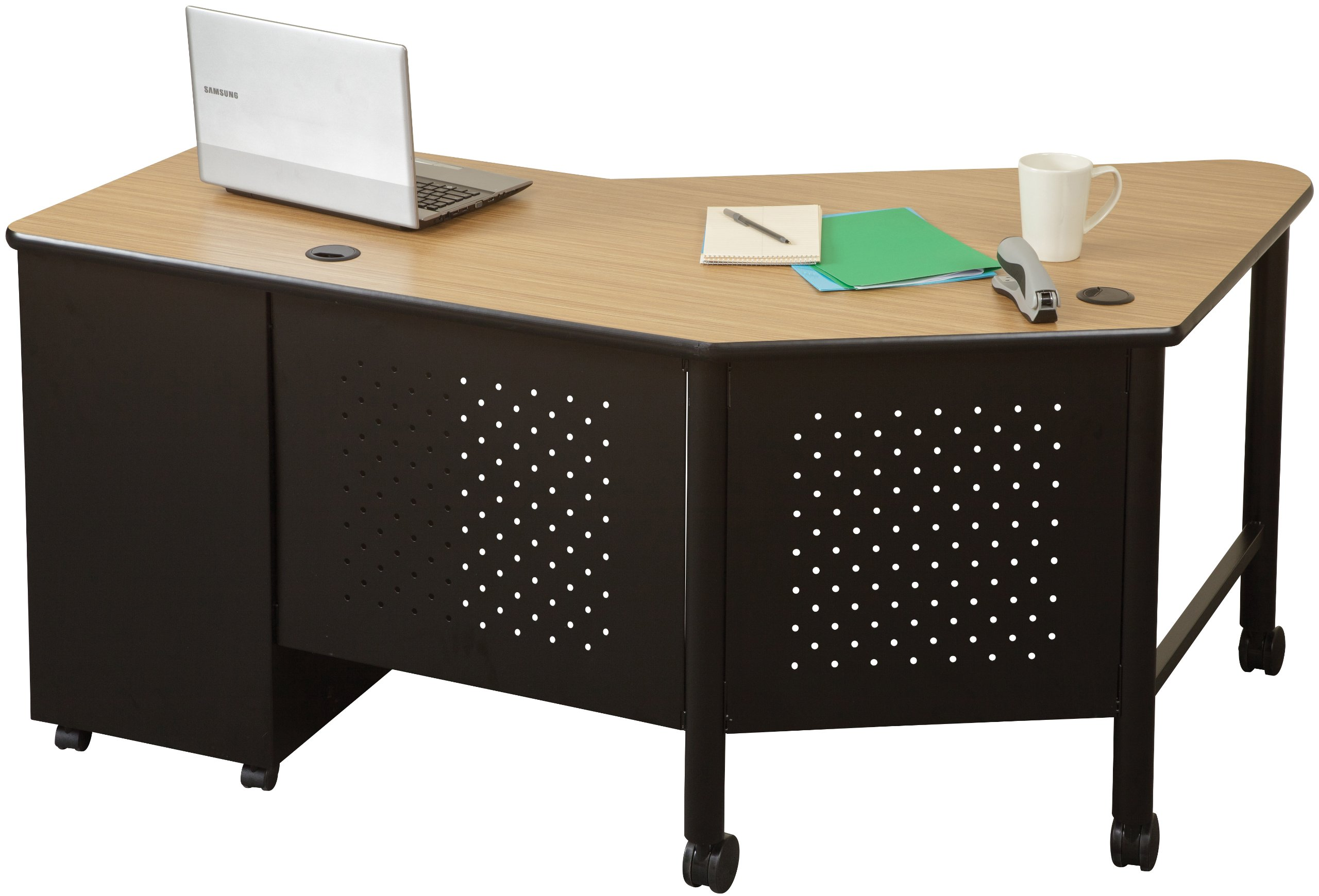 Balt Instructor Teacher's Desk, Oak