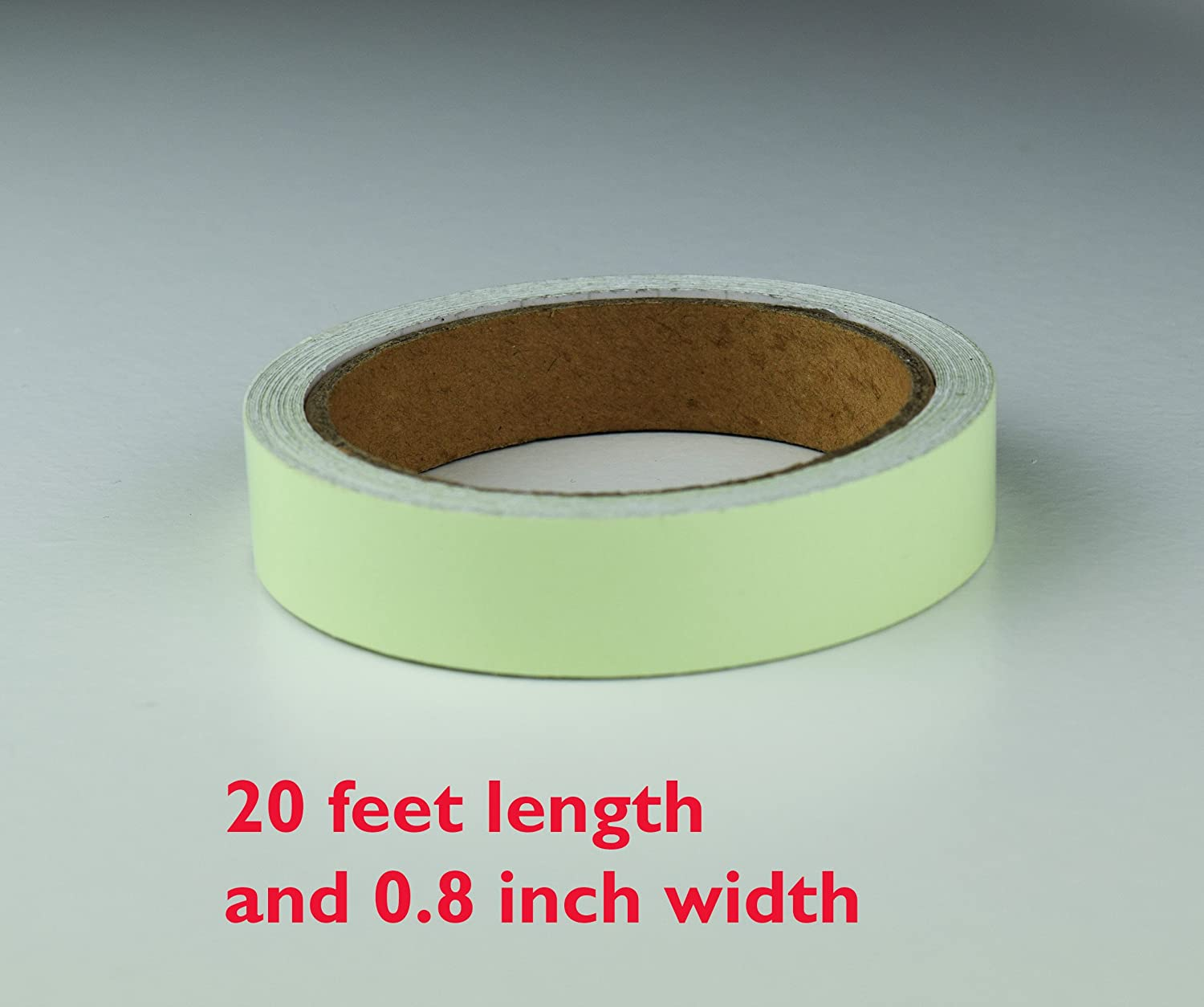 Office Adhesive Tape Careful 3m Reflective Glow Tape Self-adhesive Sticker Removable Luminous Tape Fluorescent Glowing Dark Striking Warning Tape Tapes, Adhesives & Fasteners