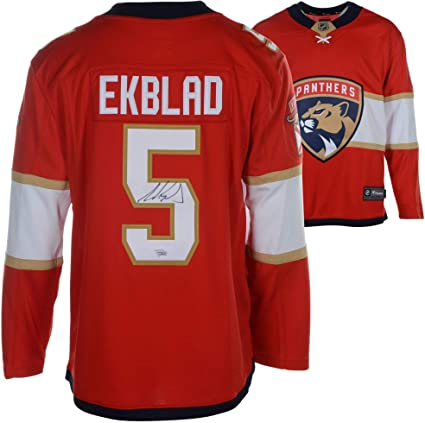 Aaron Ekblad Florida Panthers Autographed Red Fanatics Breakaway Jersey -  Fanatics Authentic Certified 7a2263803