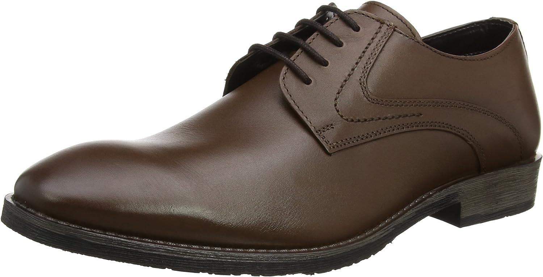 Hush Puppies Carlos Luganda, Zapatos de Cordones Derby para Hombre