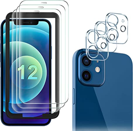 Gesma Schutzfolie Kompatibel Mit Iphone 12 3 Stück Elektronik