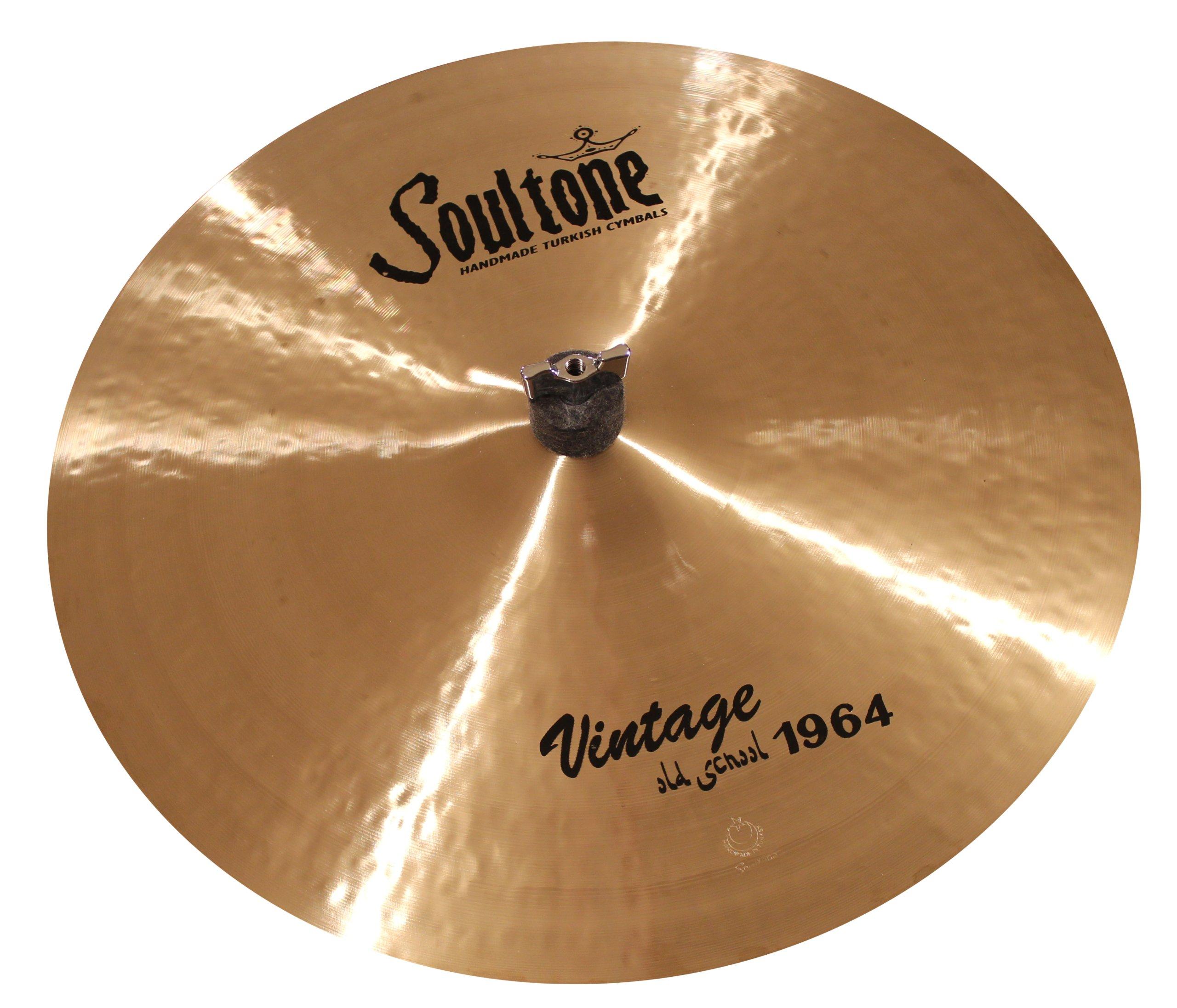 Soultone Cymbals VOS64-CRR22.5-22.5'' Vintage Old School 1964 Crash Ride