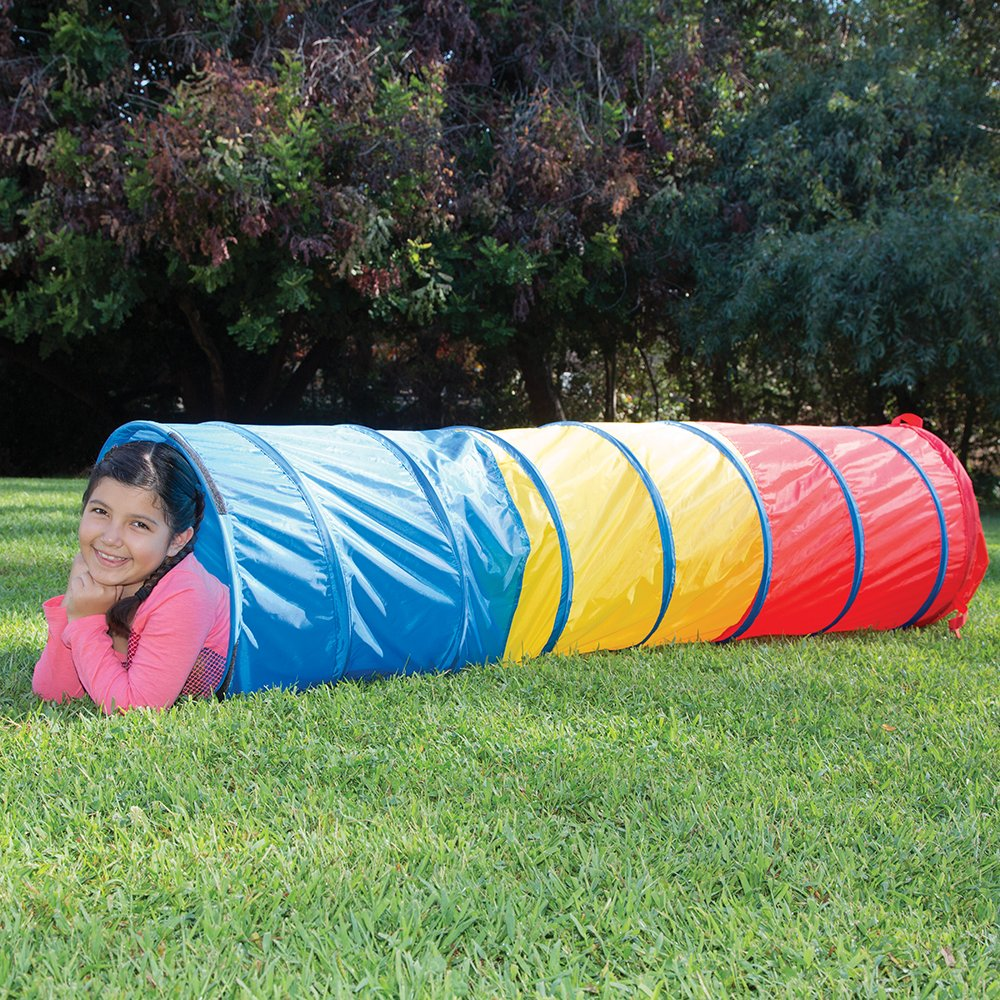 Amazon.com Pacific Play Tents Kids Find Me Multi Color 6 Foot Crawl Tunnel - Red Yellow u0026 Blue Toys u0026 Games  sc 1 st  Amazon.com & Amazon.com: Pacific Play Tents Kids Find Me Multi Color 6 Foot ...
