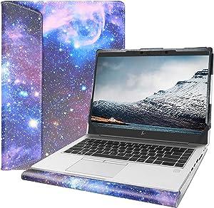 "Alapmk Protective Cover Case for 13.3"" HP EliteBook 735 G6/EliteBook 830 G6/ProBook 430 G6 G7 Series Laptop[Note:Not fit HP EliteBook 735 G5 G4 G3/EliteBook 830 G5 G4 G3/ProBook 430 G5 G4 G3],Galaxy"