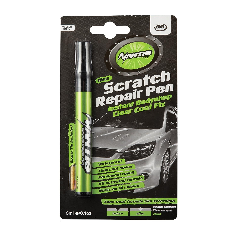 Car colour match pen - Jml Mantis Scratch Repair Pen Instant Bodyshop Clear Coat Fix