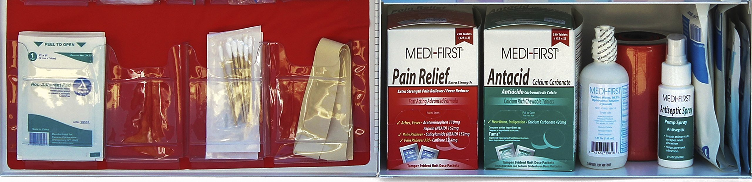 Medique Products 745ANSI Filled Three Shelf First Aid Kit by Medique (Image #6)