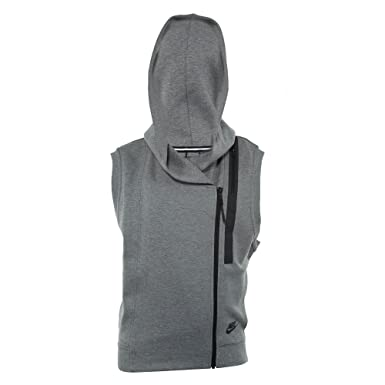 cb53331d4e4f Nike Women s Tech Fleece Vest at Amazon Women s Clothing store