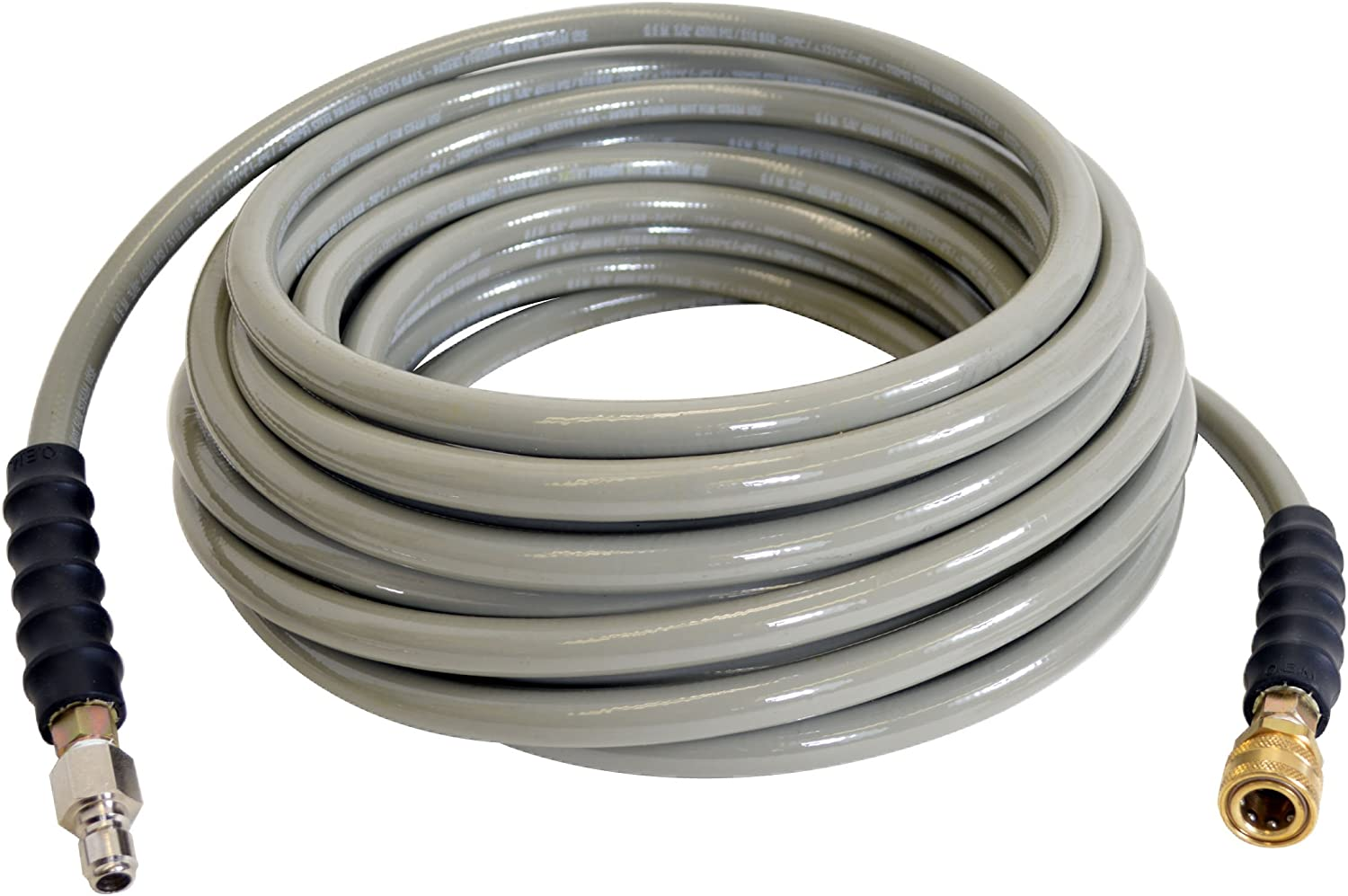"SIMPSON Cleaning Armor 41114 3/8"" x 50' 4500 PSI Hot and Cold Water Replacement/ Extension Hose"