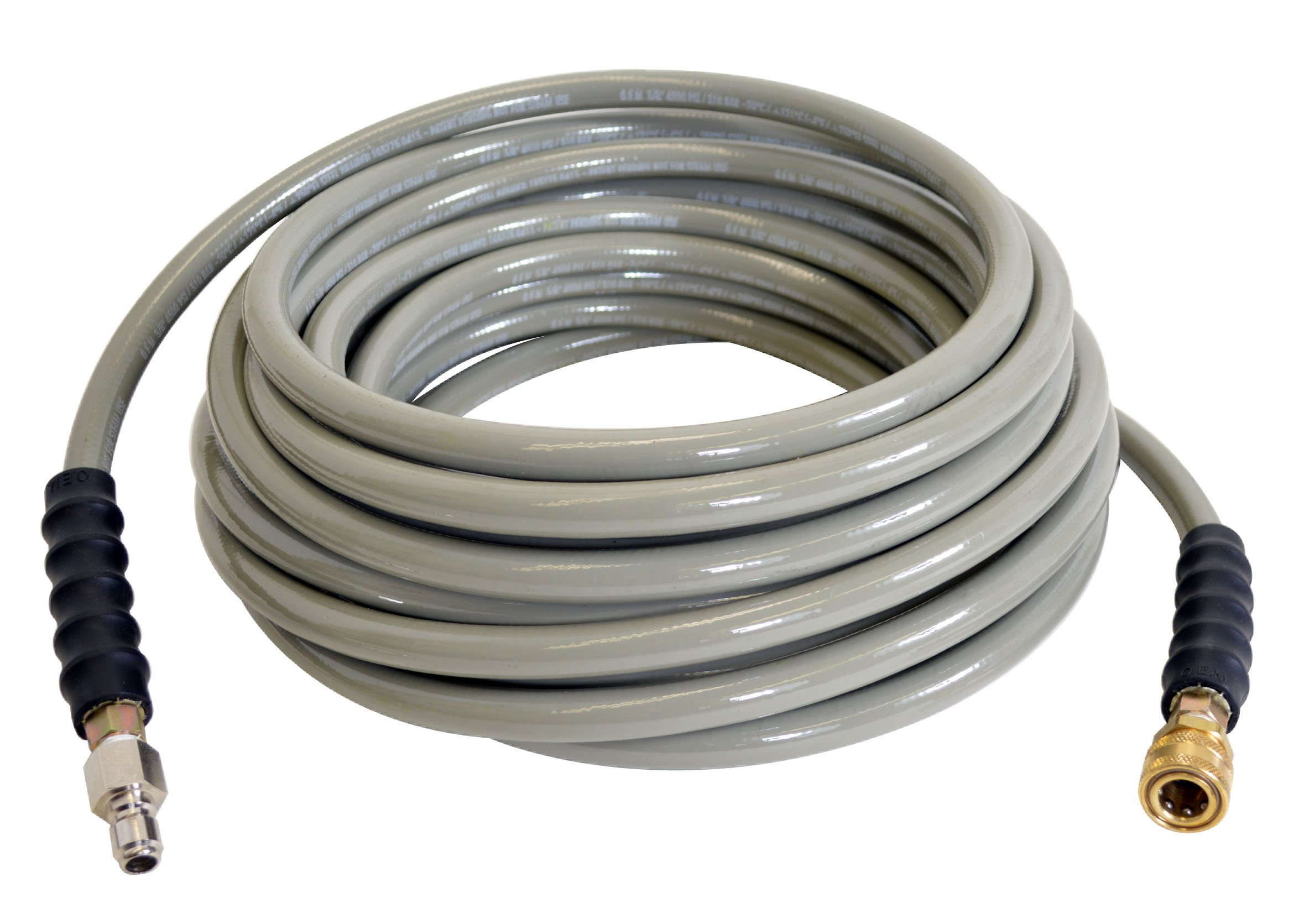 SIMPSON Cleaning Armor 41114 3/8'' x 50' 4500 PSI Hot and Cold Water Replacement/ Extension Hose