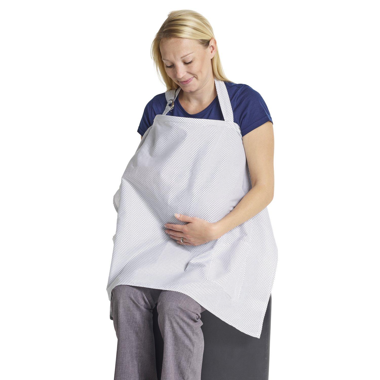 Stillschal Stilltuch f/ür Unterwegs Sichtschutz beim Stillen Sch/ürzen/ähnlicher verst/ärkter Still-Schal Mutter Kind Schal mit Aufbewahrungstasche
