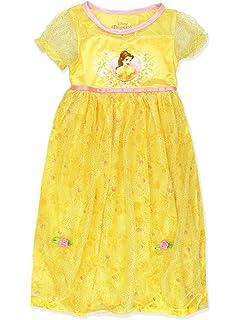 c39fa2d906 Disney Princess Belle Girls Fantasy Gown Nightgown (Little Kid Big Kid)