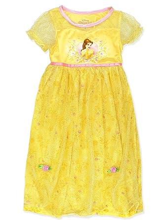 38be7f9908 Disney Princess Belle Girls Fantasy Gown Nightgown (Little Kid Big Kid) (4