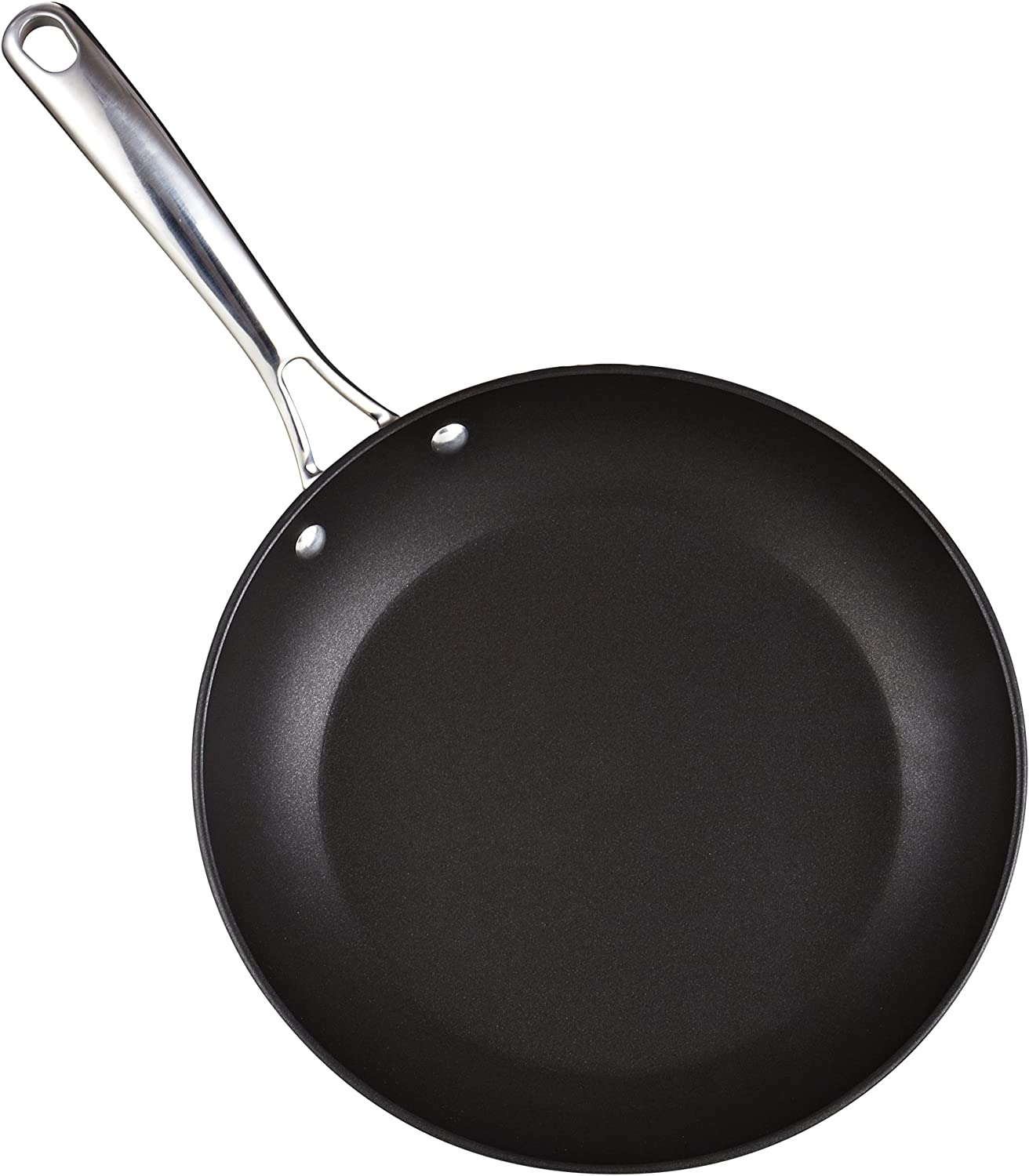 Cooks Standard 02537 11-Inch, Black Nonstick Hard Anodized Fry Saute Omelet Pan