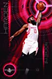 "Trends International Houston Rockets James Harden Wall Poster 22.375"" x 34"""