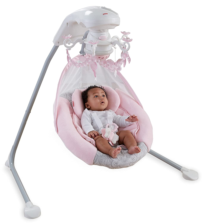 Amazon Fisher Price Cradle n Swing Rose Chandelier Baby