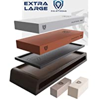 DALSTRONG Whetstone Kit - #1000 Grit, 6000 Grit - Nagura Stone & Rust Eraser - Stand Included