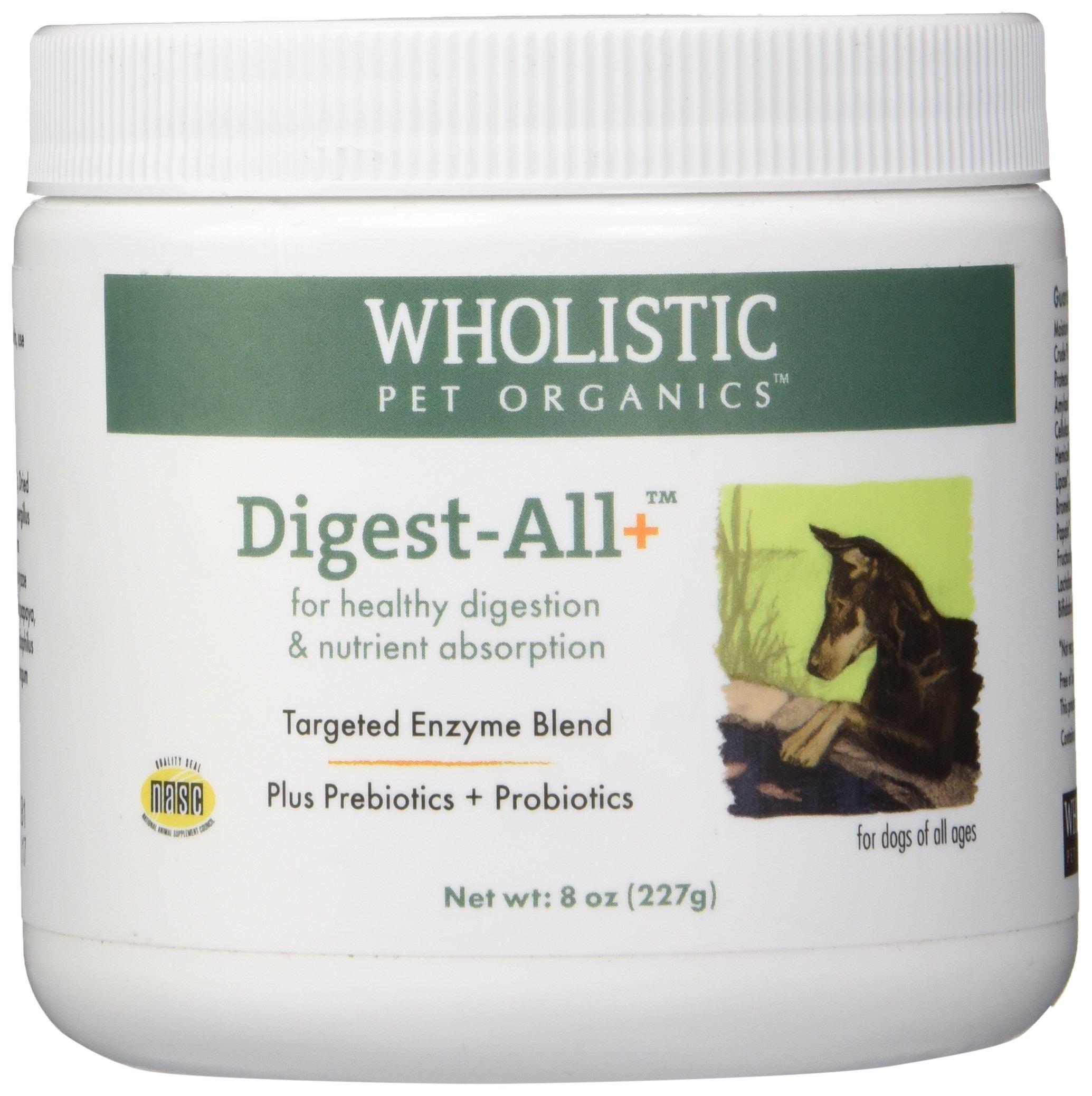 Wholistic Pet Digest-All Plus Supplement, 8 oz by Wholistic Pet Organics