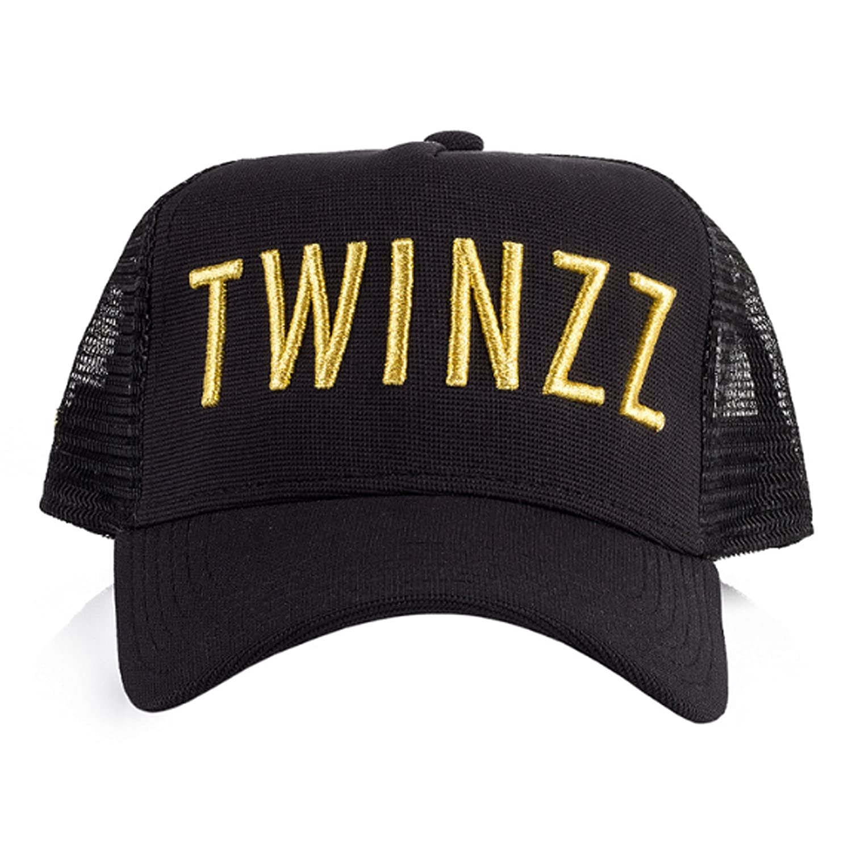 Twinzz TMT1018 3D Mesh Trucker Baseball Cap - Black   Gold One Size Black   Amazon.co.uk  Clothing 0c828dfbac