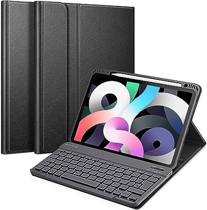 Fintie Funda con Teclado Español Ñ para iPad Air 10,9
