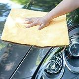 CARCAREZ Edgeless Microfiber Towels, Professional