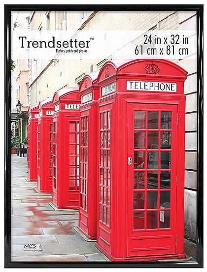 Amazon.com: MCS Trendsetter 24x32 Inch Poster Frame, Black (65678 ...
