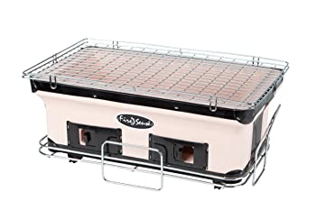 Fire Sense Ceramic Clay Hibachi Grill