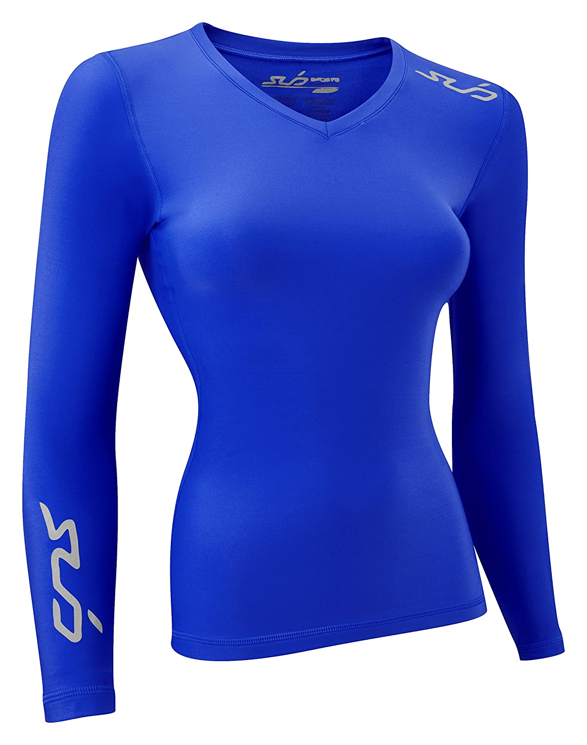 Sub Sports Womens Thermal Long Sleeve Top Base Layer Vest Winter Ski//Snow Cold Weather Compression Fit Brushed Inner