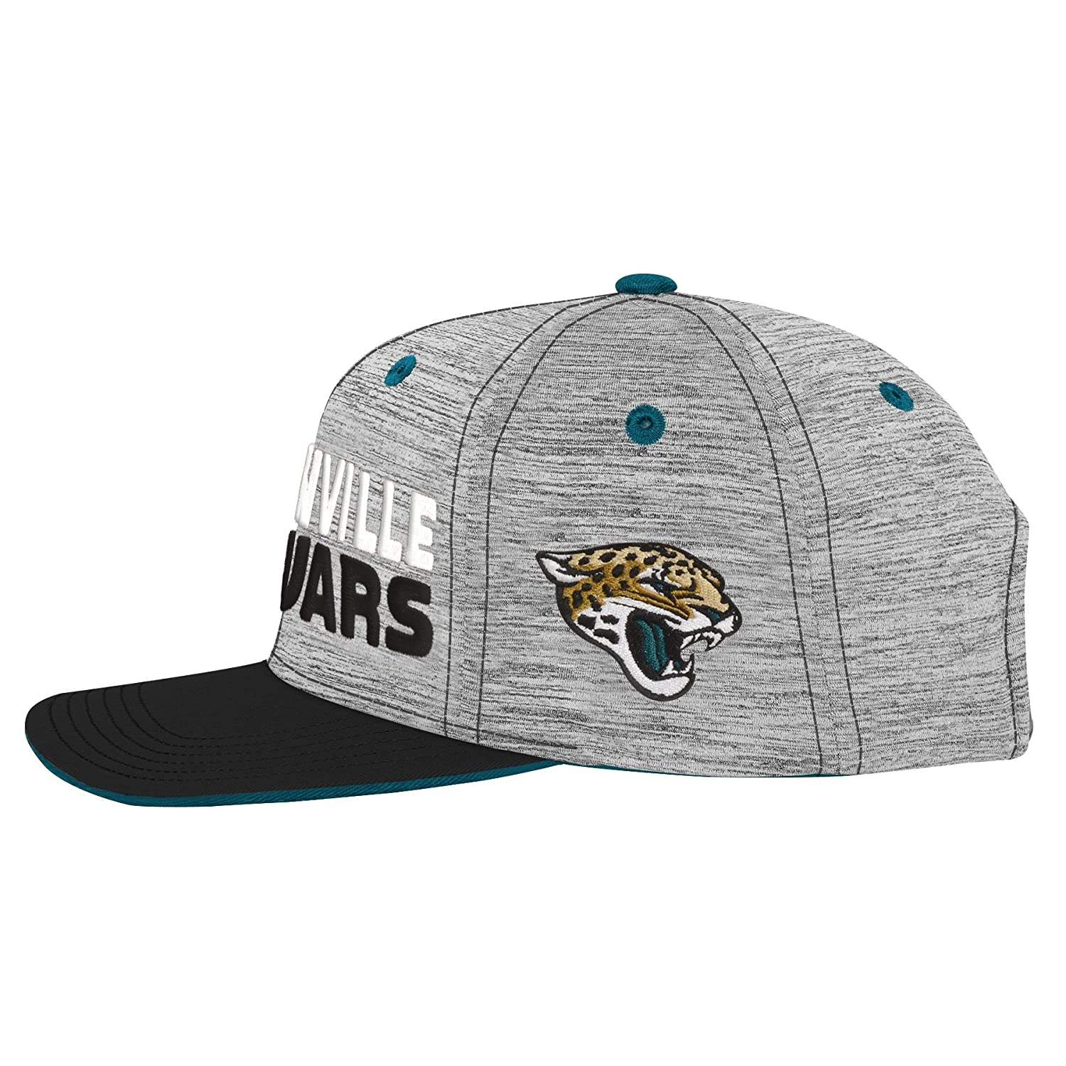 Looc Unisex Structured Adjustable Hat Jacksonville Jaguars Snapback Cap