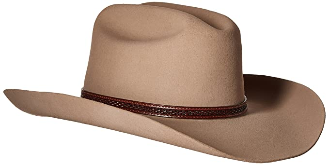 c0cf0d5c9de Image Unavailable. Image not available for. Colour  Stetson Marshall - 4x  Wool Cowboy Hat (7 1 4 ...