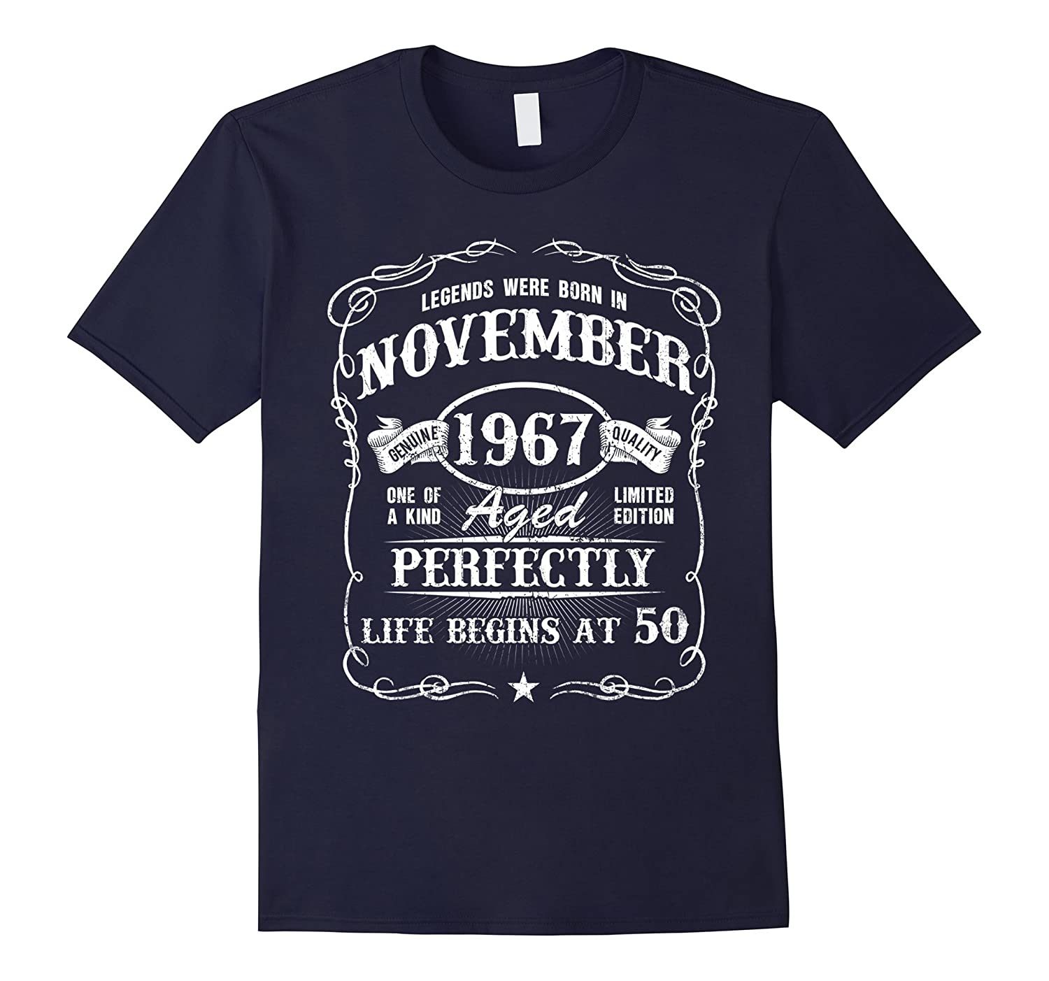Born in November 1967 - Legends were Born in November TShirt-T-Shirt