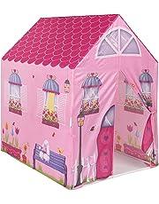 ColorBaby - Tienda de juegos con forma de casa, 95 x 72 x 102 cm, color rosa (42765)