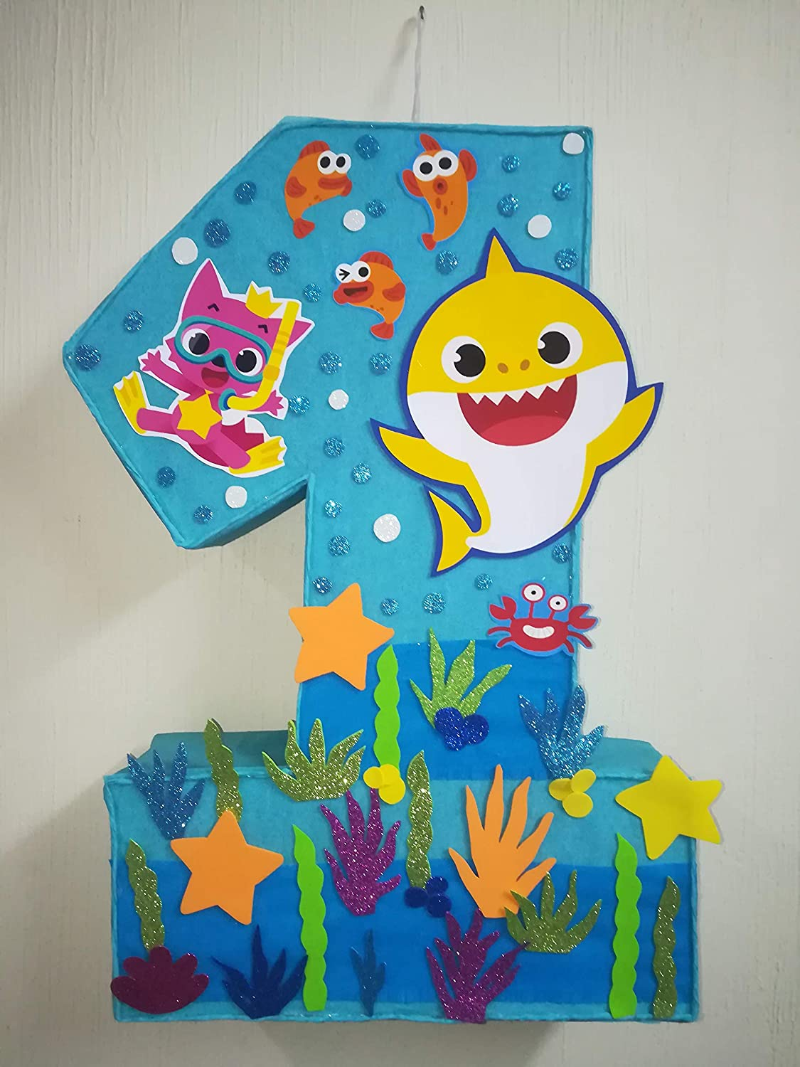 amazon com baby shark pinata under the sea birthday party baby