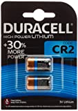 Duracell Ultra Power Type CR2 Alkaline Batteries, pack of 2
