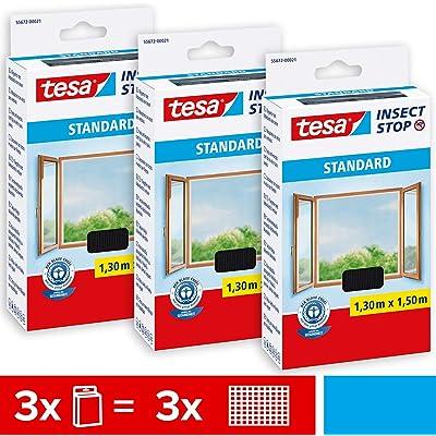 Tesa Insect Stop Standard - Mosquitera para ventanas, 55672