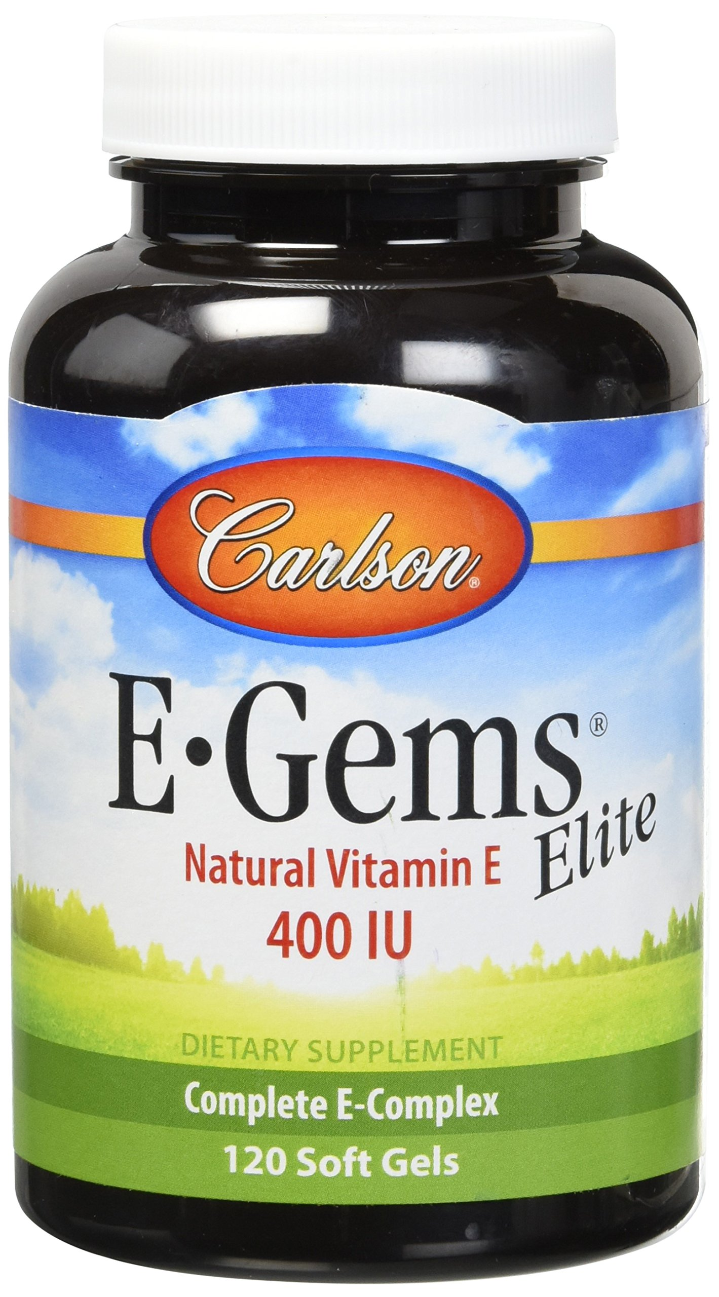 Carlson E-gems Elite 400 IU,120 Softgels