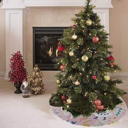 Falda de árbol de navidad Falda linda de felpa de moda Animal Pet ...