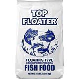 SUNSHINE MILLS 10032 Commercial Grade Premium Floating Type Fish Food Top Floater, 50 lb