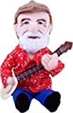 """The Unemployed Philosophers Guild Pete Seeger Little Thinker - 11"""" Plush Doll for Kids and Adults"""