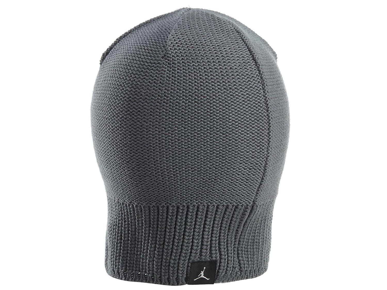 1d984388aa7fe Amazon.com: NIKE Mens Jordan Jumpman Knit Beanie Skull Cap Cool Grey: Sports  & Outdoors