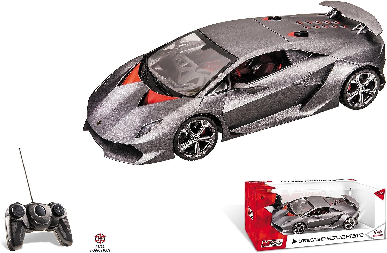 Lamborghini Sesto échelle 1//14 Sous Licence Voiture Télécommandé Jouet-Gris