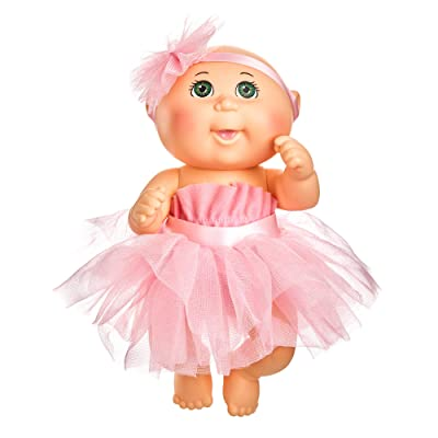 Cabbage Patch Kids 9 Inch Dance Time Girl, Green Eyes, Pink Tutu: Toys & Games