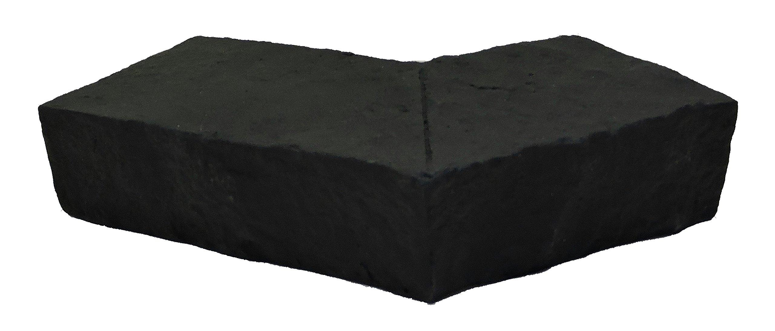 NextStone Sandstone Ledger Outside Corner Onyx